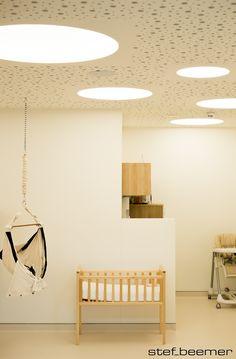 "Project : Kinderdagverblijf ""Les P'tits Soleils"" in Doornik - Atelier Sedap Coupole 42/75/100 www.beluce.be"