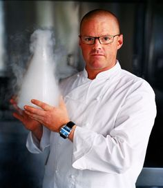Heston Blumenthal, artist and scientist. ''Of course I want to create food that is delicious, but this depends on so much more than simply what's going on in the mouth-context, history, nostalgia, emotion, memory and the interplay of sight, smell, sound and taste all play an important part in our appreciation and enjoyment of food.''