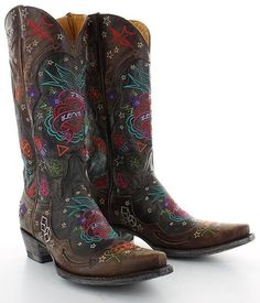 Old Gringo True Love boots Womens Cowgirl Boots, Western Boots, Cowboy Boot, Western Wear, Indian Boots, Moda Country, Cowgirl Chic, Cowgirl Style, Old Gringo Boots