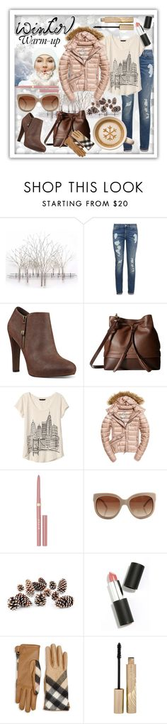 """""""Snug In Winter"""" by shaheenk ❤ liked on Polyvore featuring Home Decorators Collection, Tommy Hilfiger, Nine West, Lodis, Banana Republic, Fuji, Stila, STELLA McCARTNEY, Knud Nielsen Company and Sigma"""
