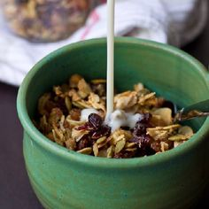 Homemade Coconut Quinoa Granola. This will be a stable in your house!