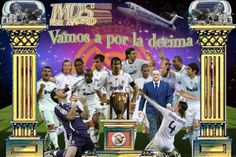 Real Madrid La Decima Pictures | Hala Madrid; Vamos a por la decima.