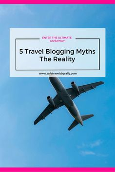 5 Travel Blogging Myths and The Reality. Are you new to the industry or just starting out? These myths will really open your eyes and give you a new perspective on the travel blogging industry. BONUS: Click to enter the Ultimate Travel Blog Starter Kit Giveaway!