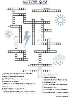 Wetter Quiz • ABC - Wichte