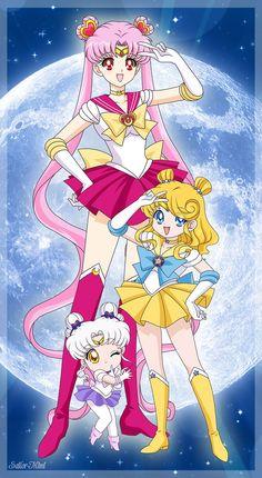 My first Sailor Moon characters. Sailor Chibi Moon, Sailor Moon Y Darien, Sailor Moon Pose, Sailor Moon Quotes, Sailor Moon Funny, Arte Sailor Moon, Sailor Moon Stars, Sailor Moon Crystal, Sailor Princess