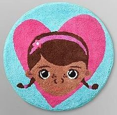Doc McStuffins Dottie Plush Bathroom Bath Rug Accessory