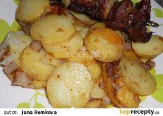 Špekové brambory v tlakovém hrnci recept - TopRecepty.cz