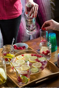 Try the delicious Raspberry Gimlet! 1.5 oz SMIRNOFF® Raspberry Flavored Vodka, 2 oz lemon-lime soda, 1 splash lime juice, and 1 slice lime. Fill shaker with ice. Shake and strain into a martini glass. Garnish with lime slice. #Smirnoff #Drink #Recipe #Spring