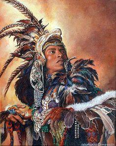 www.villsethnoatlas.wordpress.com (Aztekowie, Aztecs) Aztec Dancer by steeelll, via Flickr