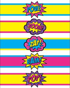 Superhero Party Free Printables Water Bottle Labels | CatchMyParty ...