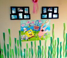 Sponge Bob birthday decorations & Games. Welcome to Bikini bottom!!!