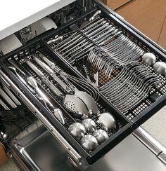 Love, love, love my 3 rack dishwasher.  Unload your silverware in seconds! PDT760SSFSS