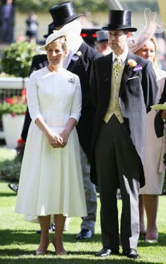 Sophie, Countess of Wessex and Prince Edward, Earl of Wessex attend day two of Royal Ascot 2014