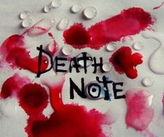 Death Note by naked-in-the-rain