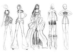 Fashion Sketches Black And White Fashion drawing, fashion Only Fashion, Teen Fashion, Classy Fashion, Fashion Shoes, Fashion Dresses, White Fashion, Fashion Dolls, Fashion Design Sketches, Fashion Drawings