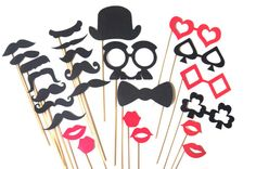 The Casino Collection  Set of  25 Photo Booth by TheManicMoose, $40.00