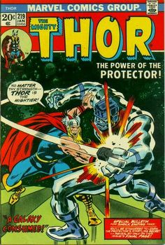 Thor #219. Thor v The Protector.