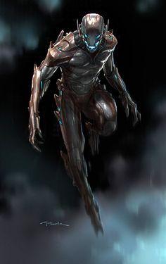 Avengers Age of Ultron Andy Park Concept Art 6 Avengers: Age of Ultron Concept Art Reveals Alternate Ultron Designs