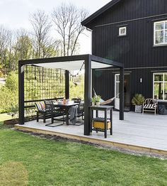 Inexpensive Pergola Kits Info: 8964191383 – My Home Design 2019 Small Pergola, Wood Pergola, Pergola Attached To House, Pergola With Roof, Covered Pergola, Cheap Pergola, Backyard Pergola, Patio Roof, Pergola Plans