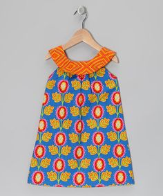 Take a look at this Blue Tulip Emily Yoke Dress - Infant, Toddler & Girls by Hippo Hula on #zulily today!