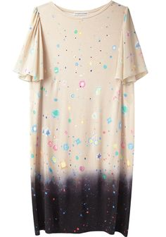 Tsumori Chisato / Neo Universe T-Shirt Dress