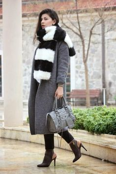Best Outfit Ideas For Fall And Winter  30 Ways to Make Gray Your Closets NewBlack