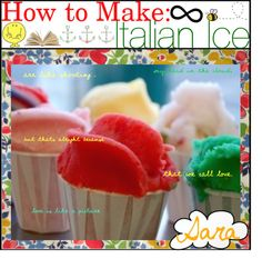 """How to Make Italian Ice ;"" by tip-princesses ❤ liked on Polyvore"