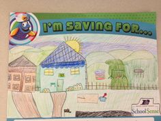 An elementary student saving for... !
