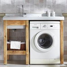 Где установить и как подключить стиральную машину в маленькой ванной комнате | дневник архитектора | Яндекс Дзен