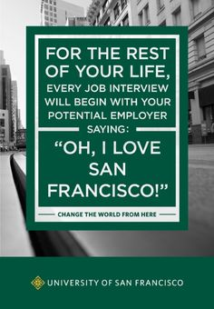 Great ad. So true. SF is always an excellent conversation starter.