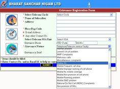 Online Complaint Portal Launched by BSNL