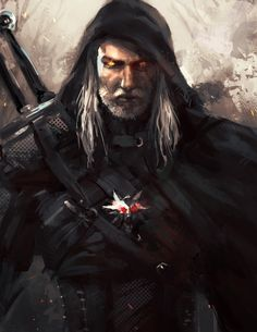 Geralt of Rivia by leopinheiro.deviantart.com on @deviantART