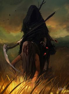 of death messenger by Kalberoos.deviantart.com on @DeviantArt
