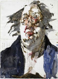 Horst Janssen, Self-portrait