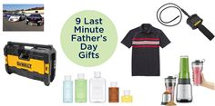 CONTEST ALERT! Father's Day is coming up mighty fast – here's some last-minute gift ideas to put a mega smile on dad's face, plus a killer $940+ prize package is up for grab…