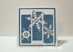 Gorgeous snowflake card ❄️