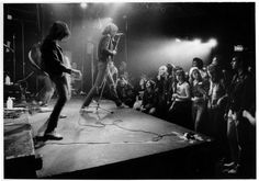 The Ramones, who are arguably one of the artists most closely associated with the CBGB, performing (1977). | 17 Awesome Photos That Captured CBGB's Iconic 1970s Punk Scene
