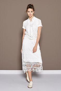 Floral Giallo | Fashion | Lookbook | White | Clean | Crisp | Lace