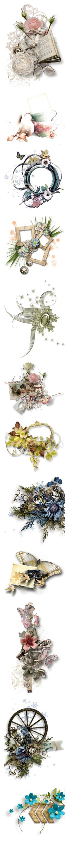 """Digital Scrap"" by borislava-zo3bi ❤ liked on Polyvore featuring fillers, flowers, backgrounds, clusters, effects, embellishments, detail, borders, saying and quotes"