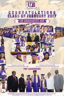 University of Belize Spring 2017 Graduation