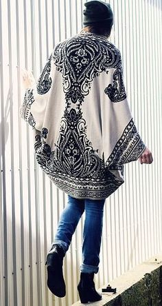 Get this boho style cardigan from Cavenders.