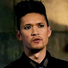 """"""" bane looks so good as always. Shadowhunters Season 3, Magnus And Alec, The Infernal Devices, Shadow Hunters, Cassandra Clare, The Mortal Instruments, Bane, Jr, Tv Series"""