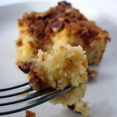 Sugar Crunch Coffee Cake. Grain free and dairy free.