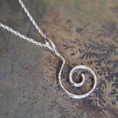 Havent shared a spiral for a while. This is one of my pendants from a few years ago. #arcjewellery #spiral #curl #silver #pendant #handmade #arc #jewellery #etsy #folksy #etsyshop #etsyuk #folksyshop #etsyukseller #spiraling #hammered #necklace