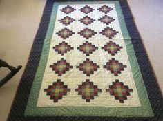 QIAD Birdseye quilt made by Sharon Theriault
