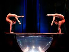 An intimate innuendo implied with perfect finesse. ( Zumanity by Cirque du Soleil ) http://cirk.me/11fQRIx