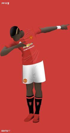 Paul Bogba of Man Utd wallpaper. Paul Pogba Manchester United, Manchester United Players, Pogba Dab Wallpaper, Man Utd Pogba, Pogba Wallpapers, We 2012, Ibrahimovic Wallpapers, Cr7 Messi, Manchester United Wallpaper