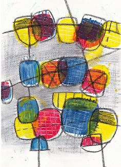 abstract2-TA. a print from lesson 2 of Carla Sonheim's online gelli plate course.