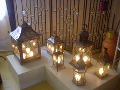 Indian lanterns by Atelier Consuelo Cavalcanti