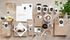Coffee & Kitchen is located in Vienna, they entrusted  their branding to Moodley Brand Identity. The result is a premium visual identity, build around the simplicity of the logo and the black and white color scheme. The difference is in the small details like the red rope lamp and the small icons.